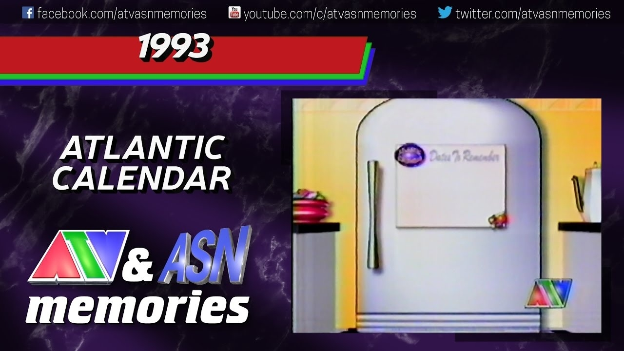 1993 - Atlantic Calendar - Youtube  1993 Hindi Calendar By Tithi Patttra