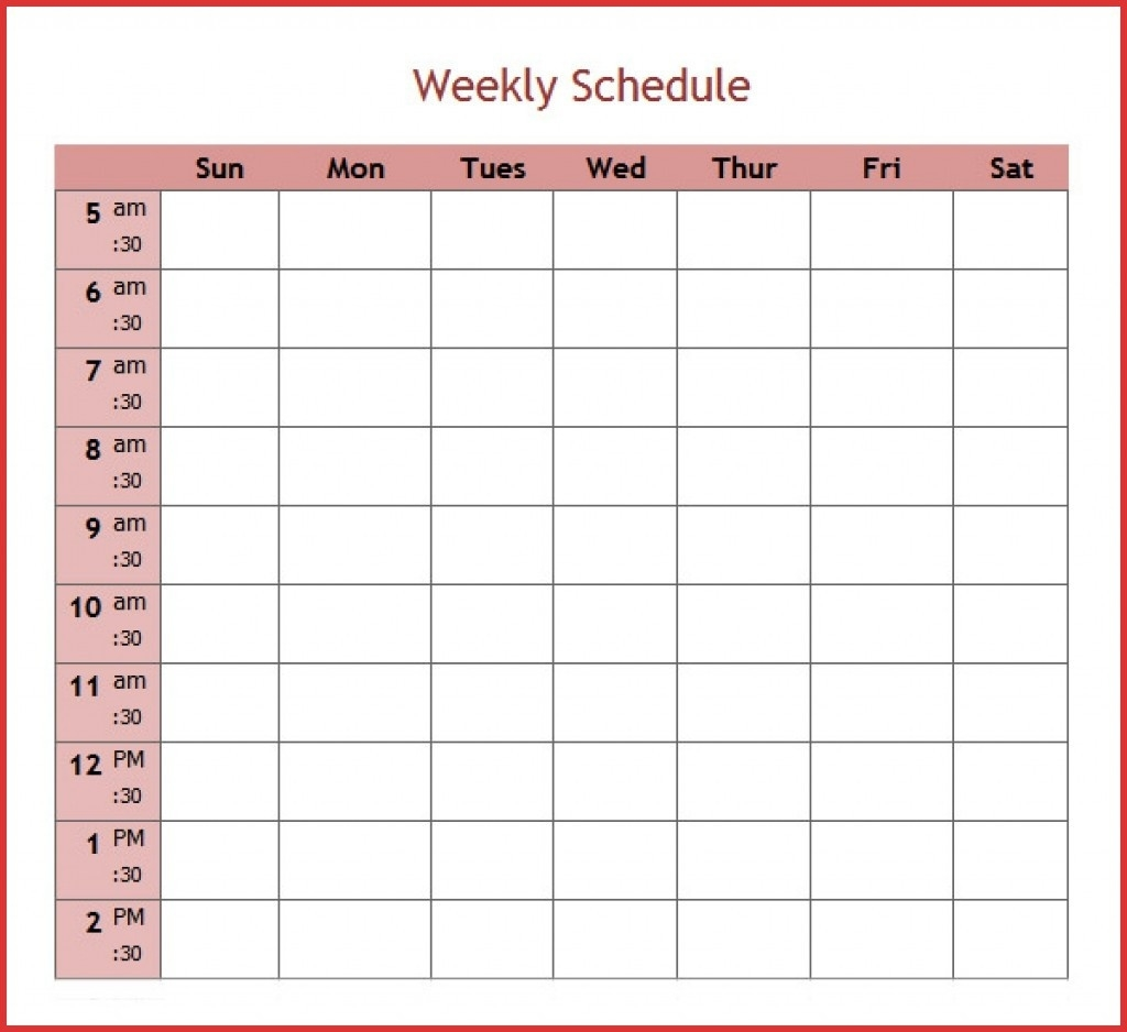 27 Images Of 5 Day Weekly Planner Template Leseriail Com Exceptional  Weekly Planner Printable 5 Am Start