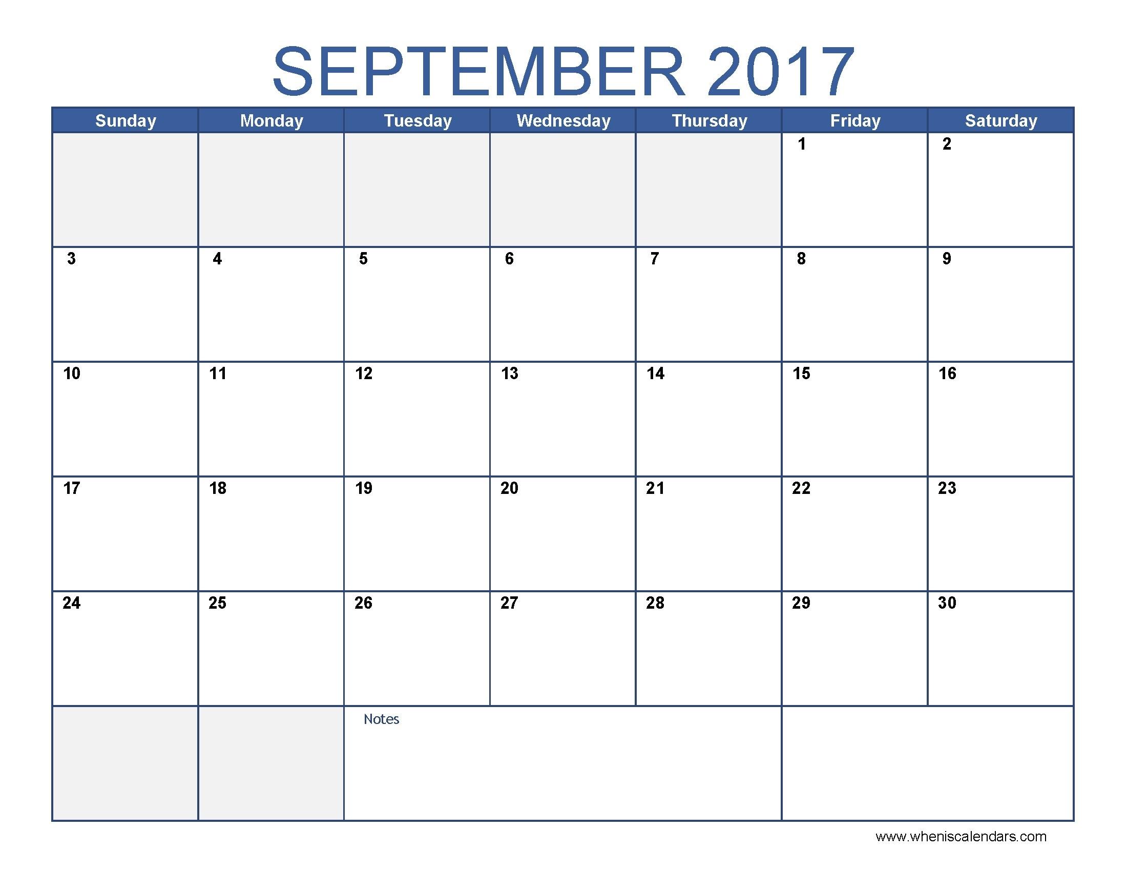 Calendar For The Month Of September | Vitafitguide  Calendar For Month Of September
