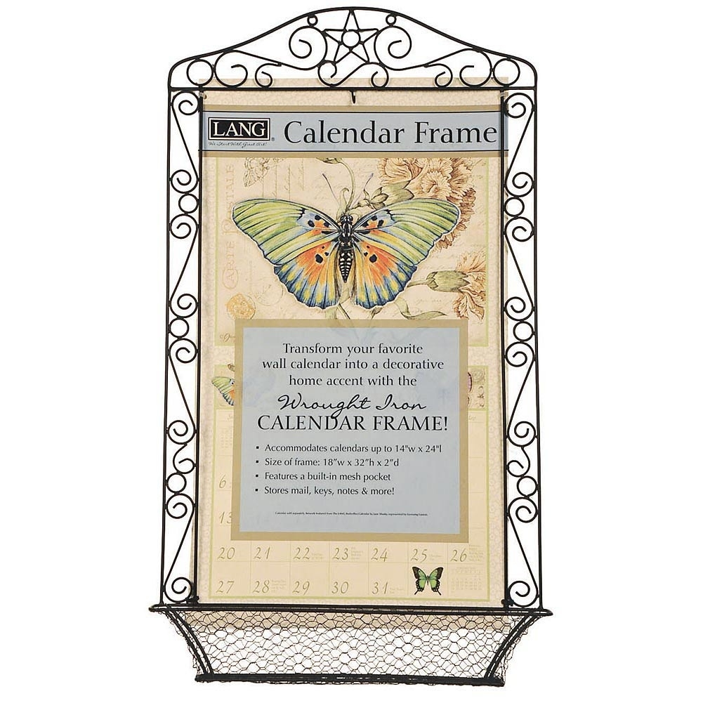 Cool Idea Wall Calendar Frame Wrought Iron Calendars Com Organizer  Wall Calendar Frames And Holders