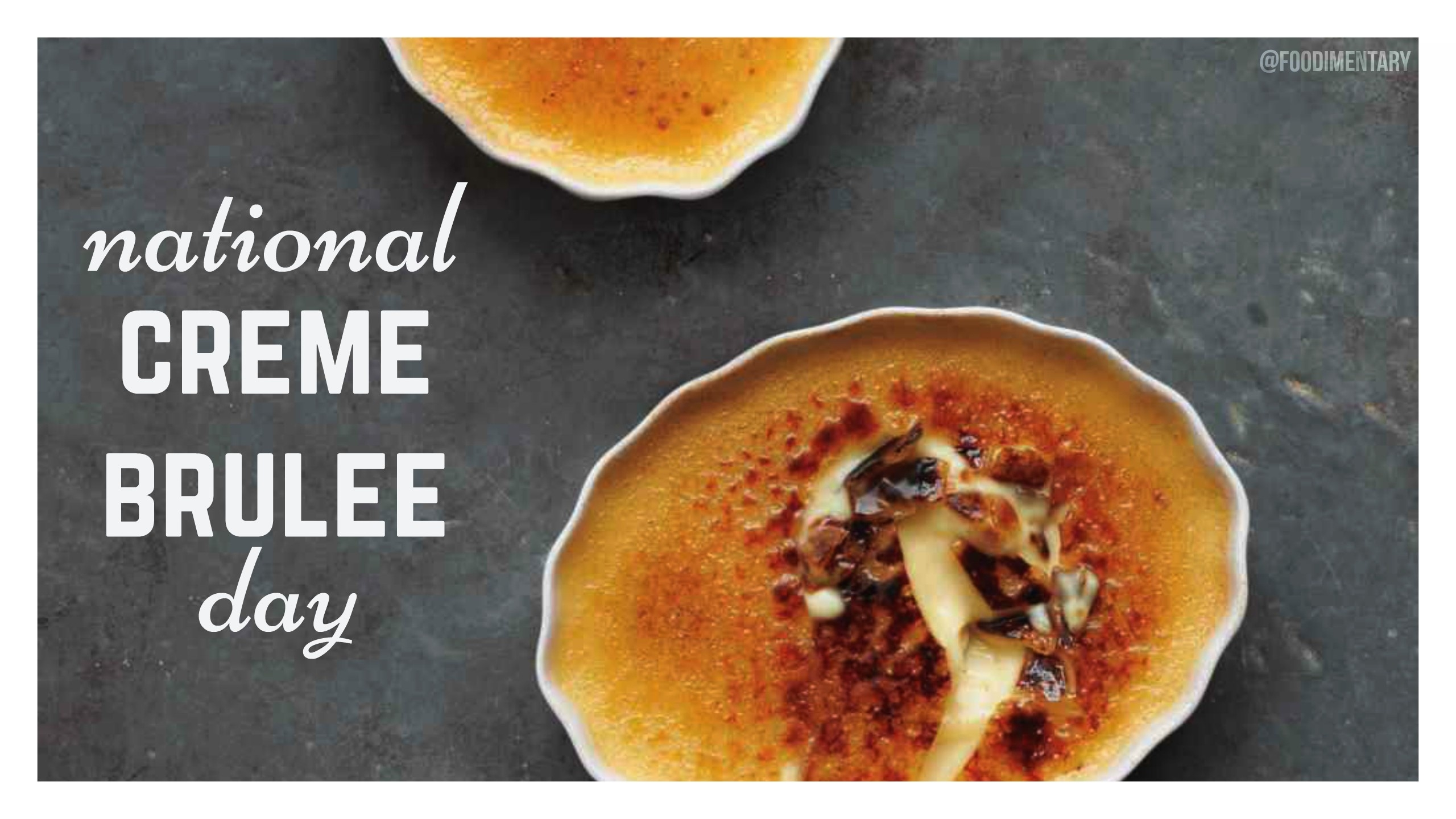 Foodimentary - National Food Holidays  July National Food Day Calendar