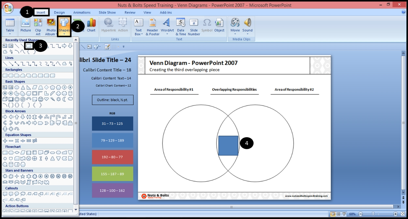 How To Make The Overlapping Part Of A Venn Diagram In Powerpoint  How To Overlap Pictures Microsoft Word 2013
