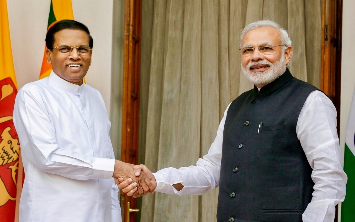 India-Sri Lanka Relations: Trying To Counter The Middle Kingdom  18 August 1987 In Sri Lanka