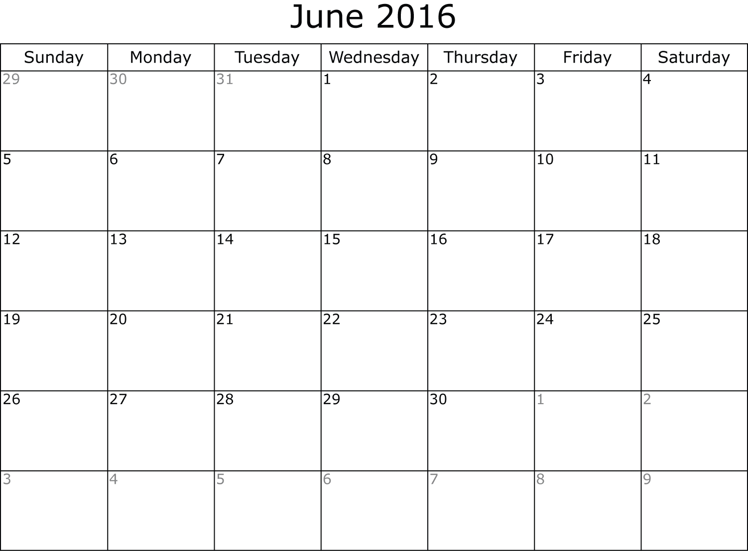 June, July, Aug 2016 Free Printable 3 Month Calendar   Calendar  June And July Calendar Month