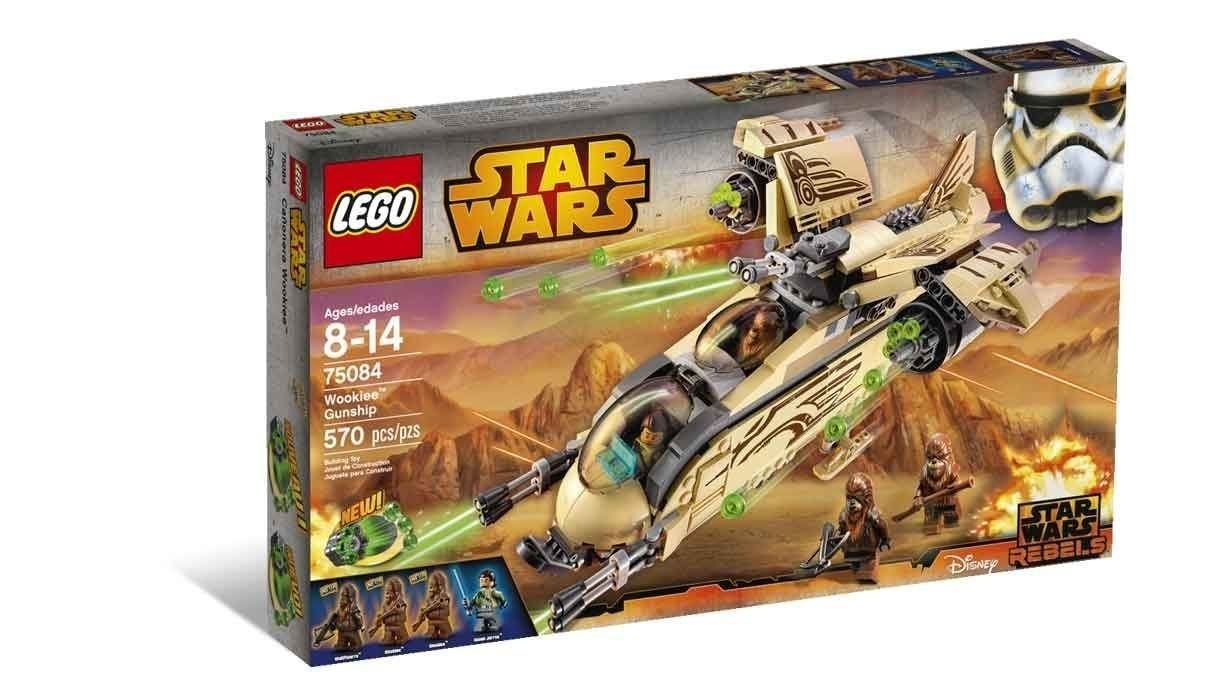 Lego Star Wars: Disney Star Wars Rebels Wookiee Gunship (75084  Star Wars Lego Sets Code