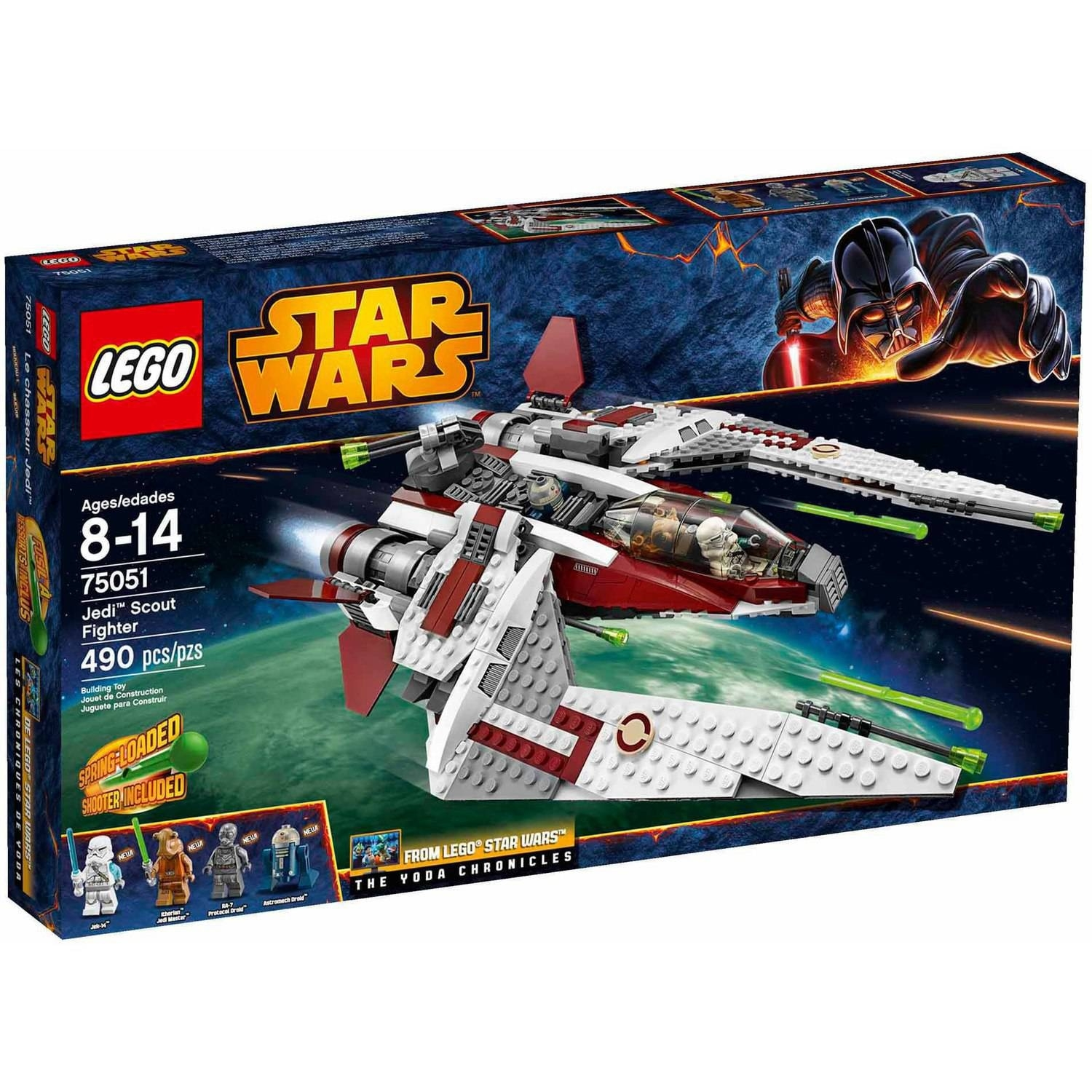 Lego Star Wars Jedi Scout Fighter - Walmart  Star Wars Lego Sets Code