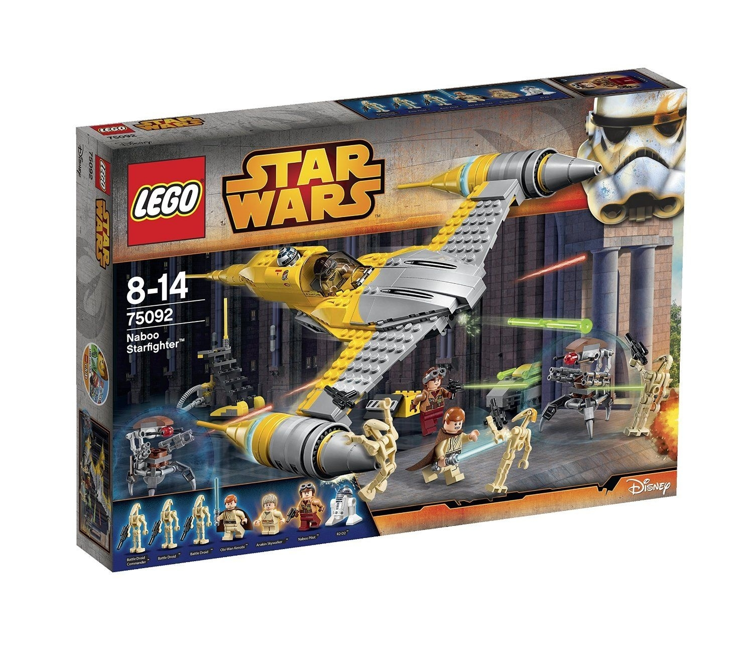 Lego Star Wars: Naboo Starfighter (75092) Manufacturer: Lego Enarxis  Star Wars Lego Sets Code
