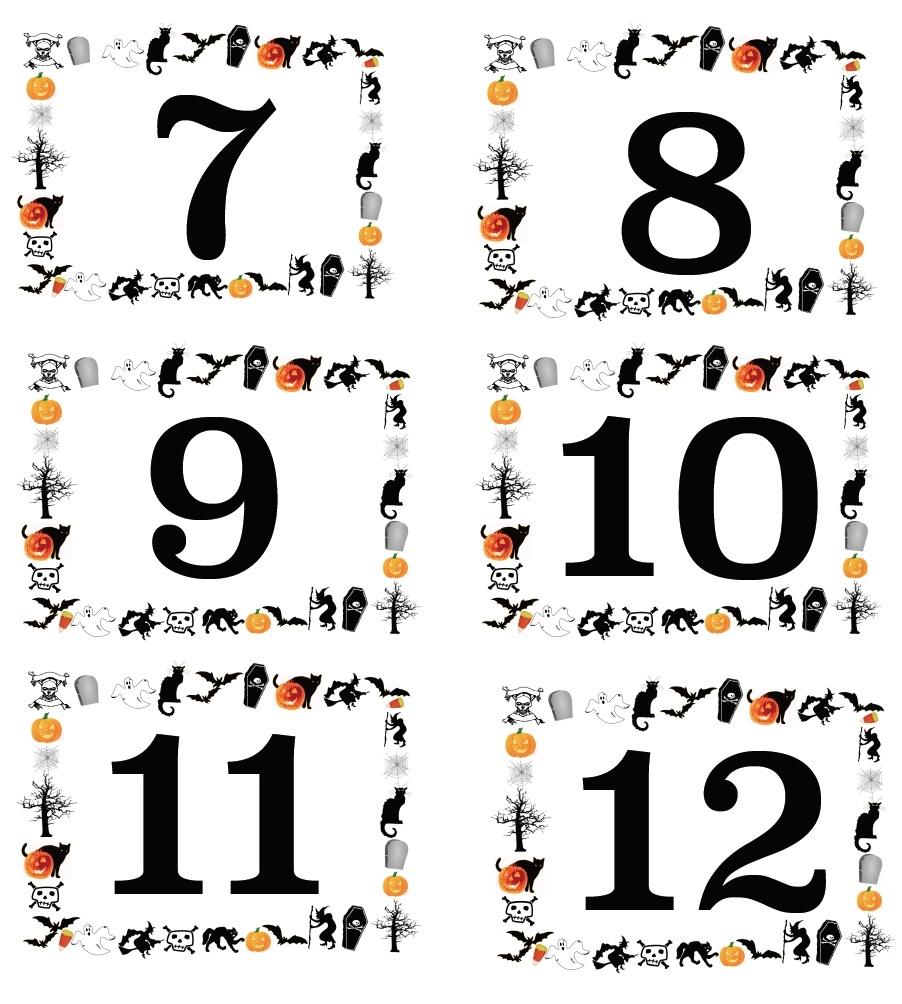 Number Labels Printable - Printable 360 Degree  Free Printable Number Labels 1-31