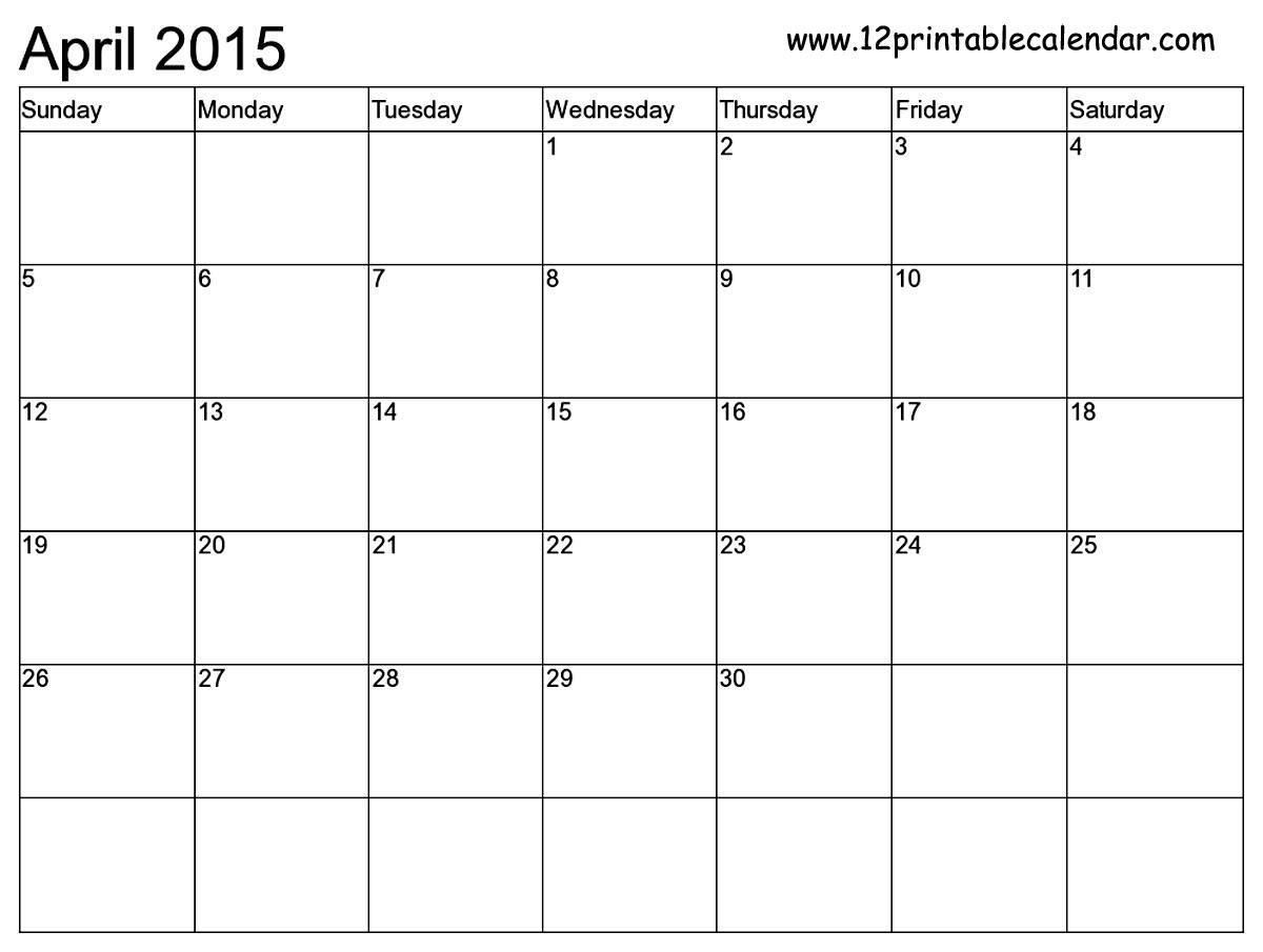 Printable 3 Month Calendar 2015 - Yeniscale.co  Blank 3 Month Printable Monthly Calendar