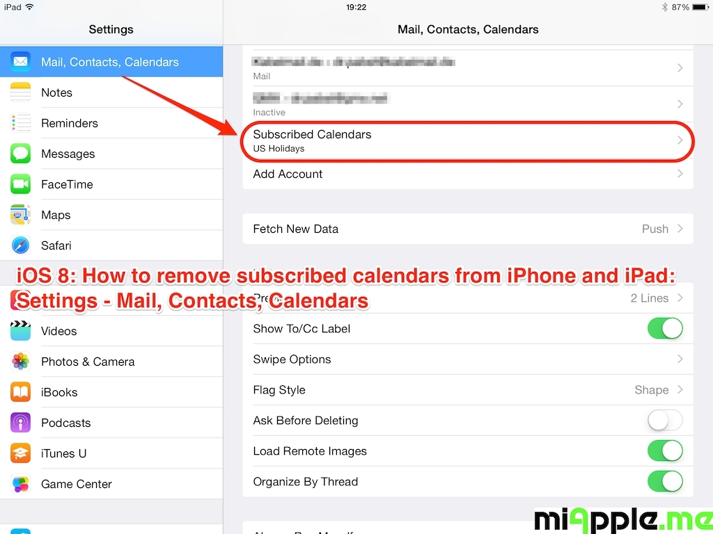 Sync Calendar With Iphone | Seven Photo  How To Sync Calendar To Iphone