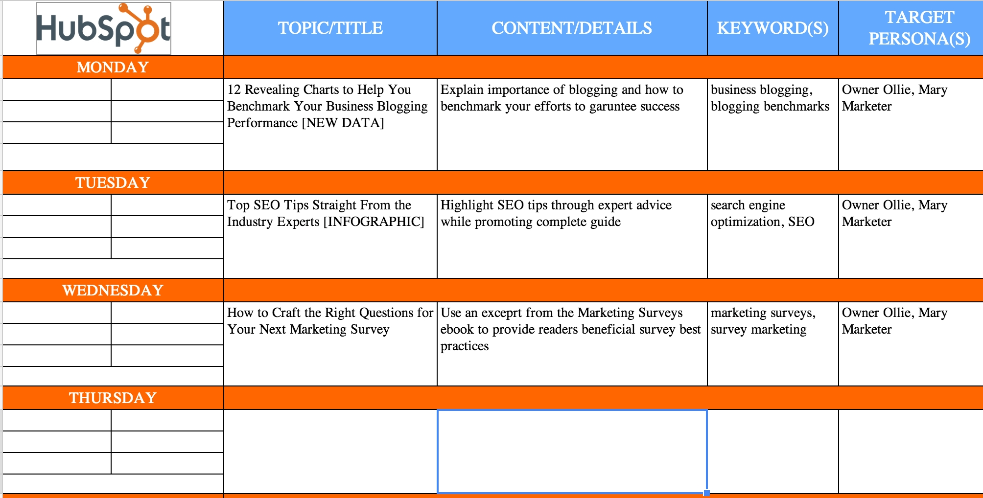 The Complete Guide To Choosing A Content Calendar  Social Content Calendar Template Monthly