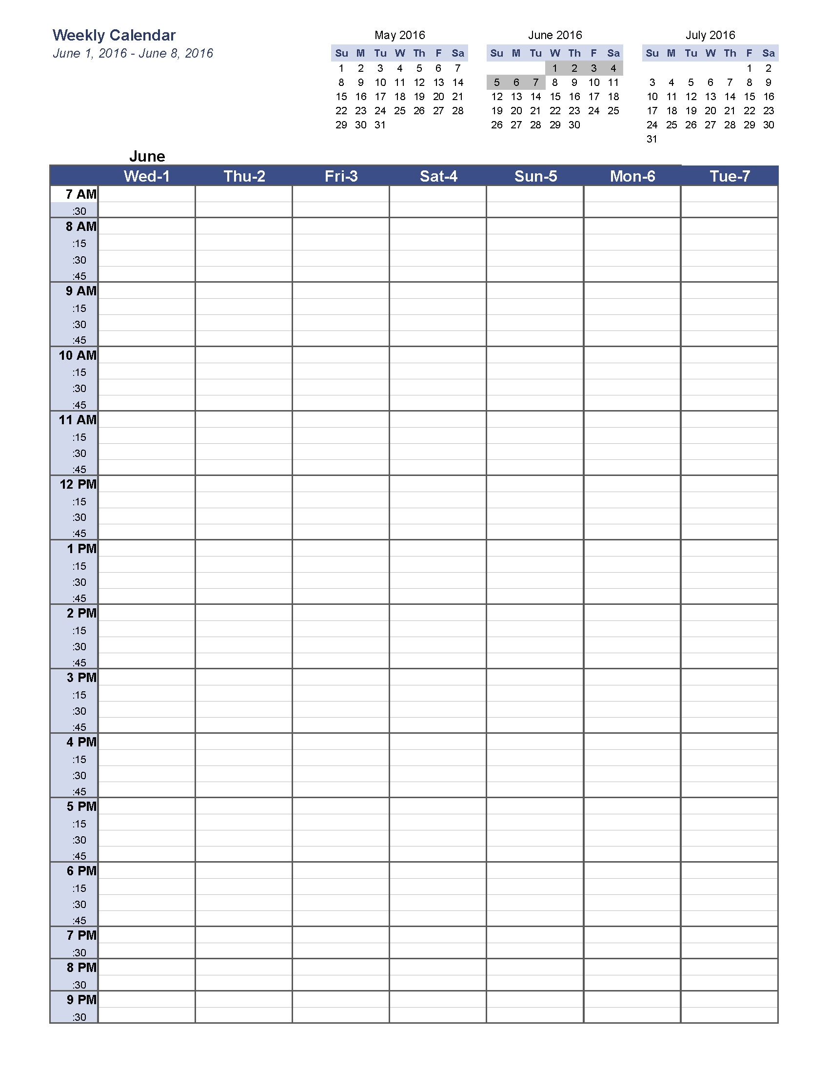 Weekly Planner Template Printable Free Pages Fine Blank Calendar  Weekly Planner Printable 5 Am Start