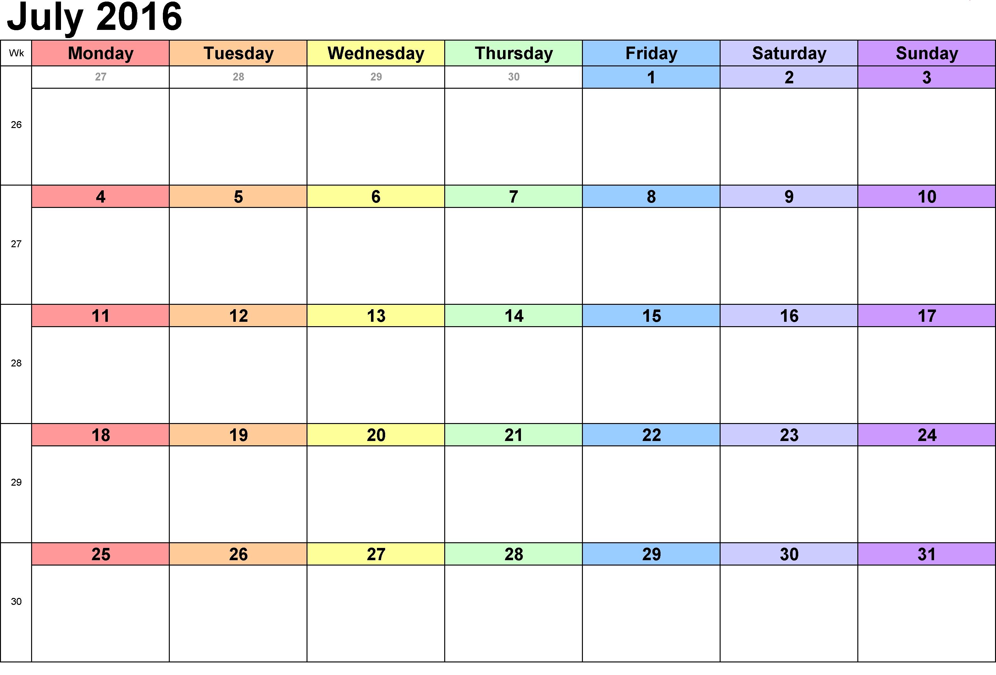 Weekly Schedule Blank Template - Shefftunes.tk  Printable Blank Weekly Employee Schedule