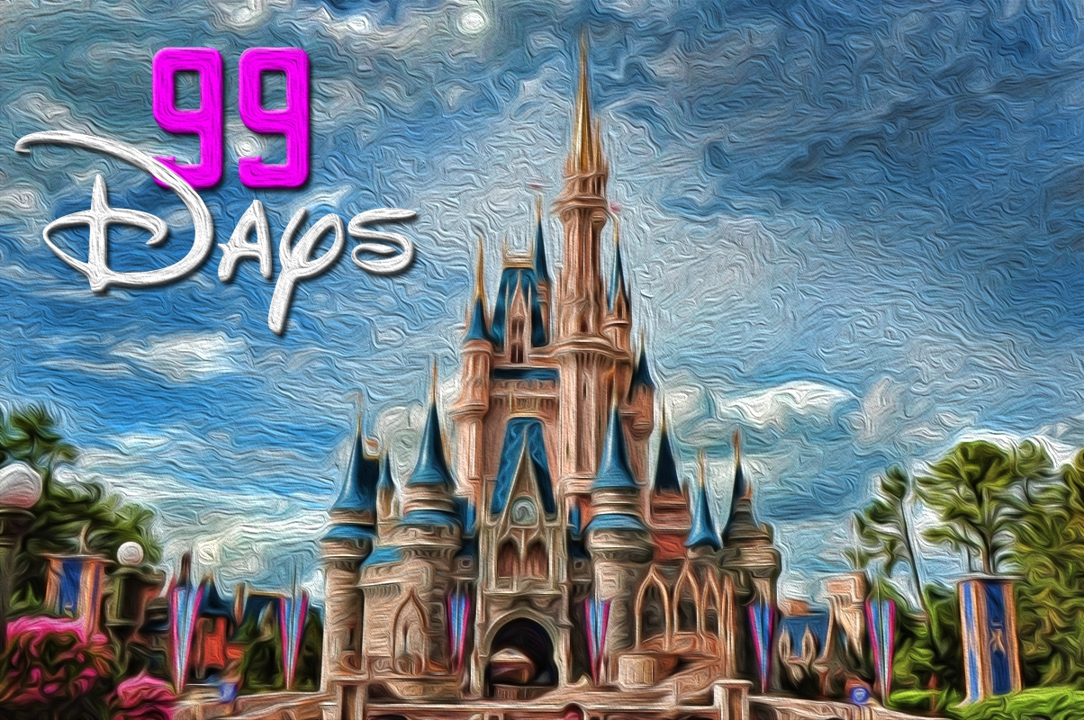 99 Days Until Disney World! | Disney World Countdown! | Pinterest  99 Days To Disney Printable Calendar