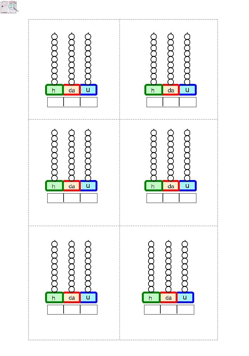 Abaco Con Centinaia | Matematik | Pinterest | Segundo Grado, Metodo  Operaciones Con El Abaco Suma