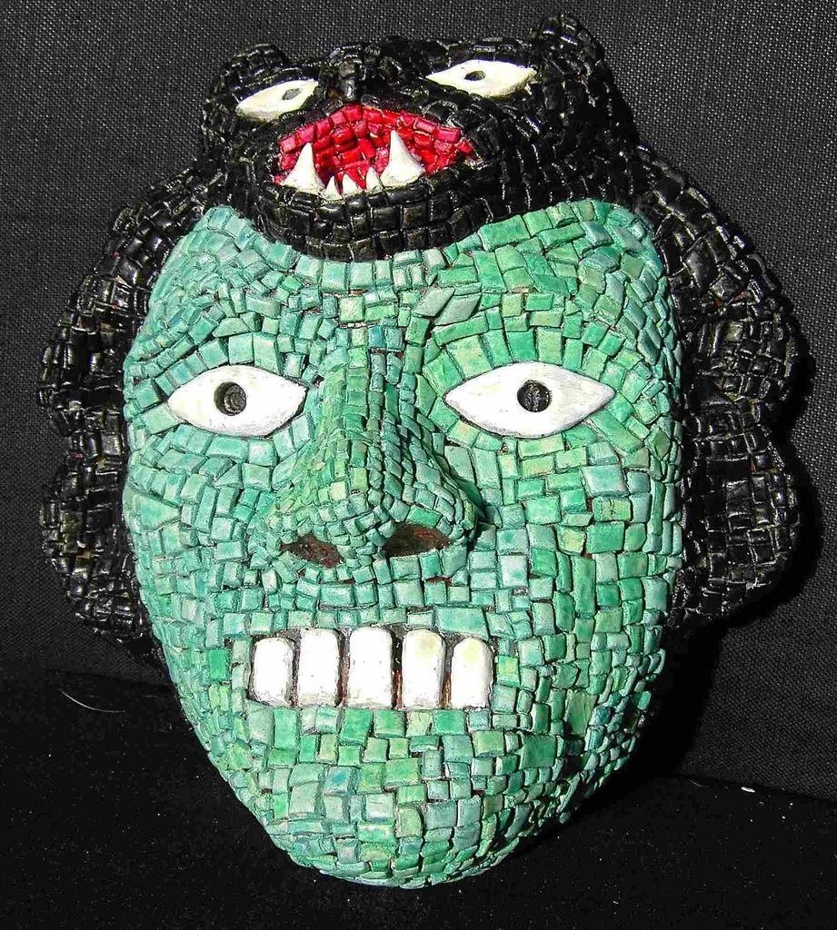 Aztec Mask: 6 Steps  Aztec Masks And Ther Meanings