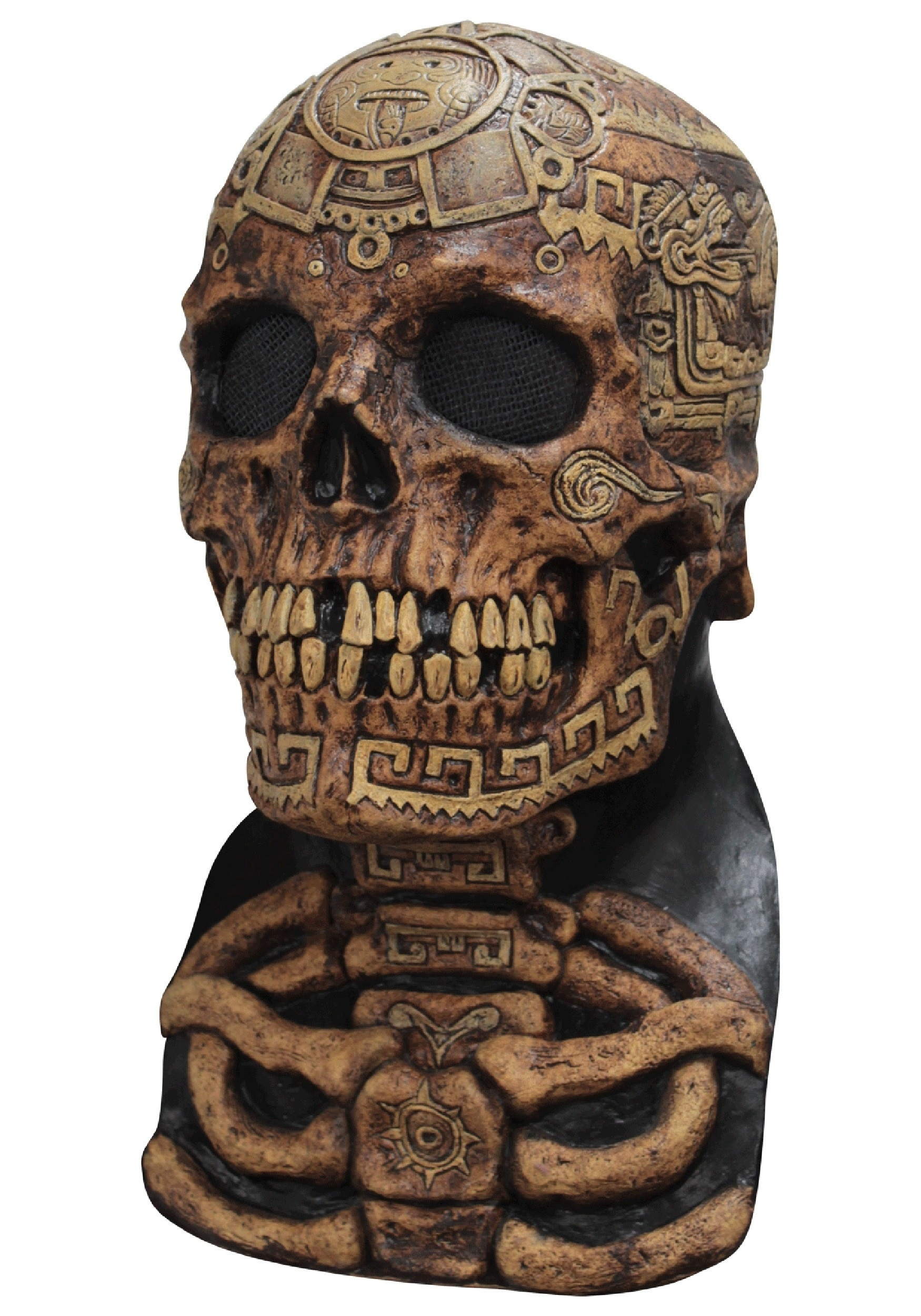 Aztec Skull Mask  Aztec Masks And Ther Meanings