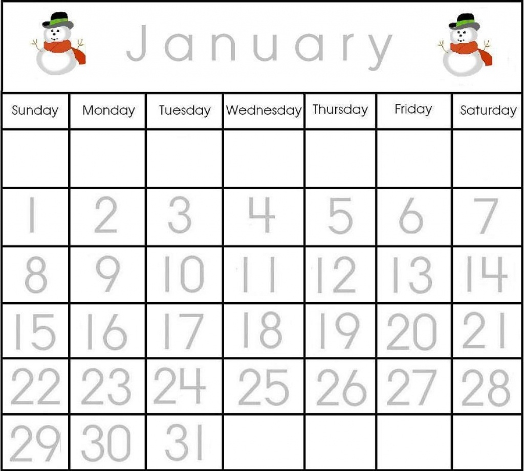 Collection Of Free Preschool Printable Calendar Numbers | Download  Printable Numbers 1-31 For Calendar