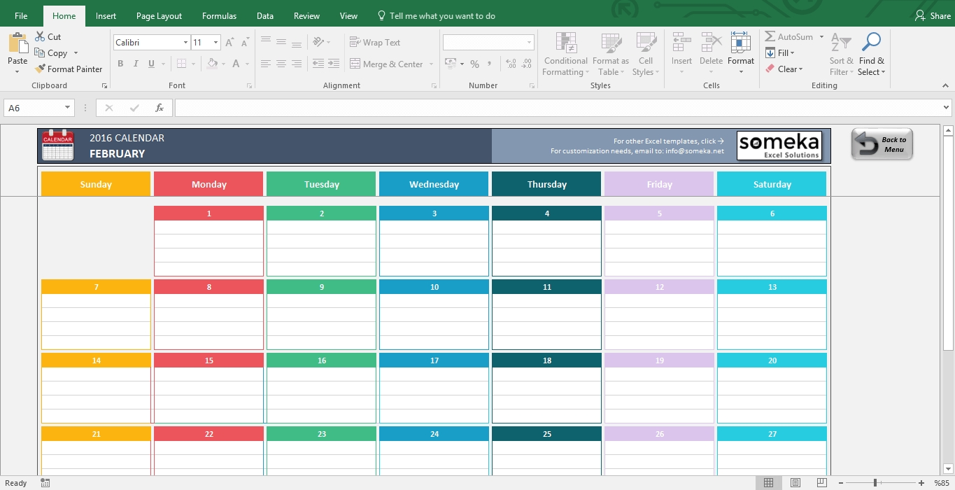 Excel Calendar Templates - Download Free Printable Excel Template  12 Month Training Calendar Template