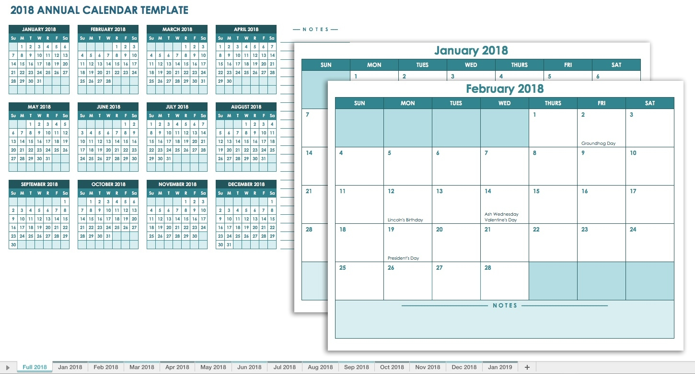 Free Blank Calendar Templates - Smartsheet  6 Weeks Holiday Timeline Template