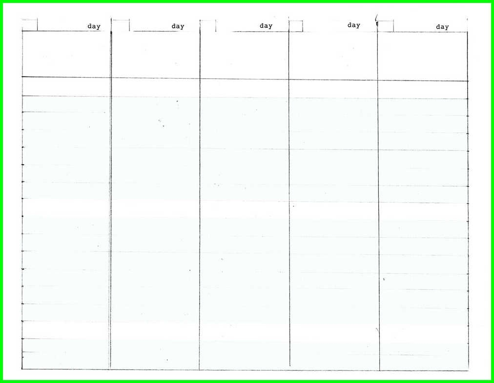 Free Printable 5 Day Monthly Calendar 2018 | Calendar Printable Free  5 Day Monthly Calendar Printable