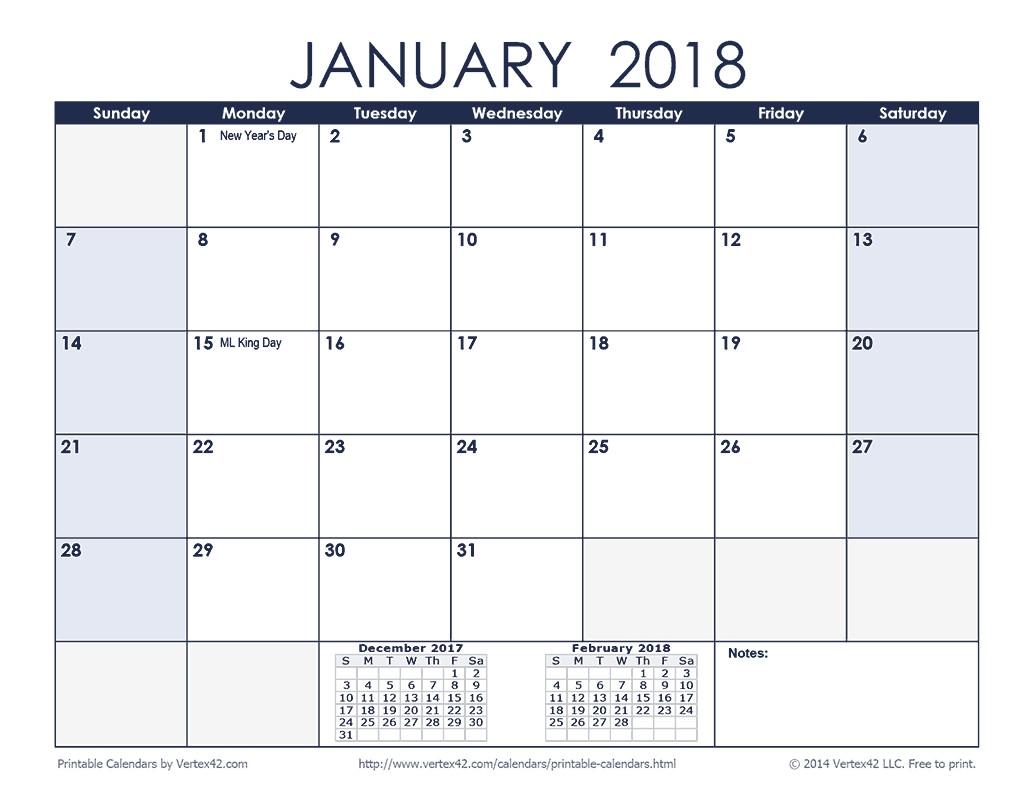 Free Printable Calendar Monthly Calendars Fair 2018Month  Free Printable Month By Month Calendars