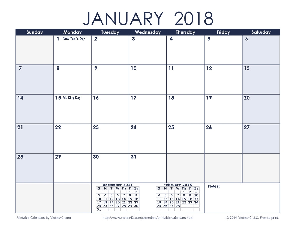 Free Printable Calendar Monthly Calendars Fair 2018Month  Printable Calendar Month By Month