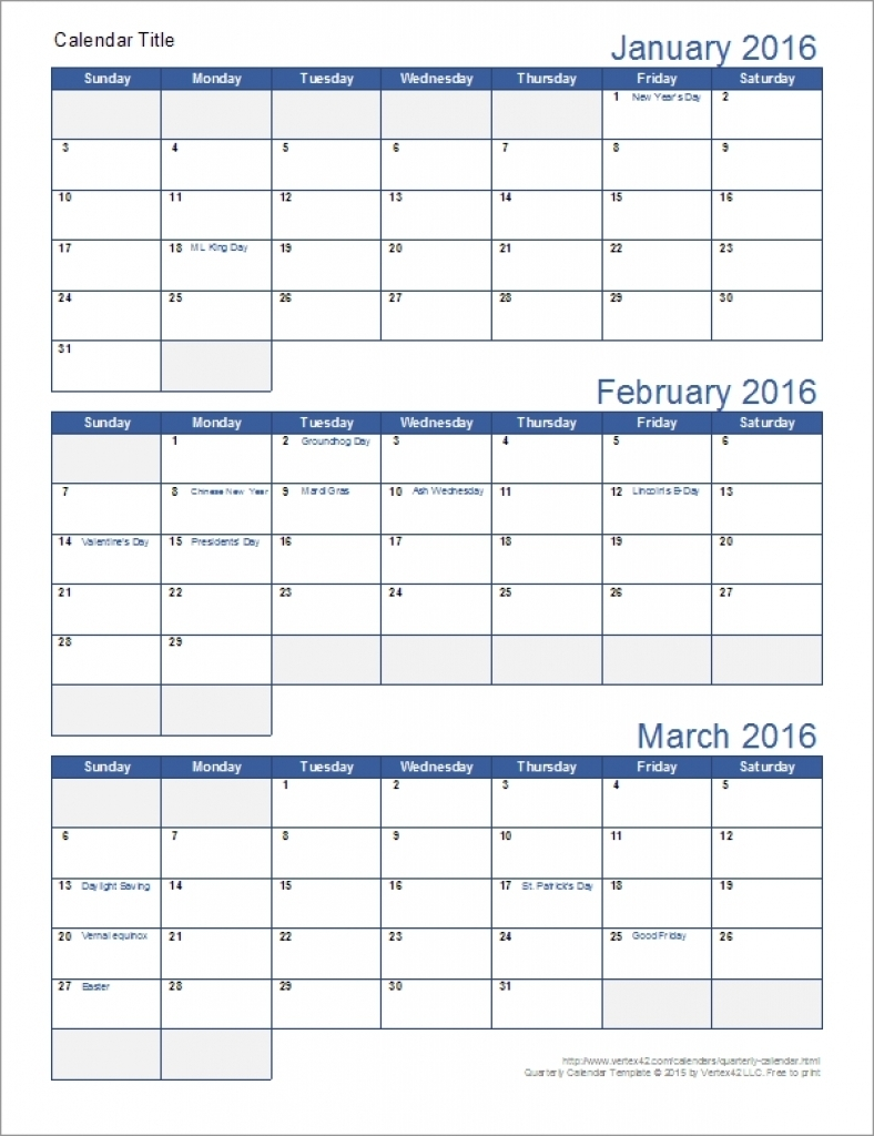 Free Printable Calendars 3 Month – Calendar Printable Markazeslami  Calendar Template 3 Months Per Page