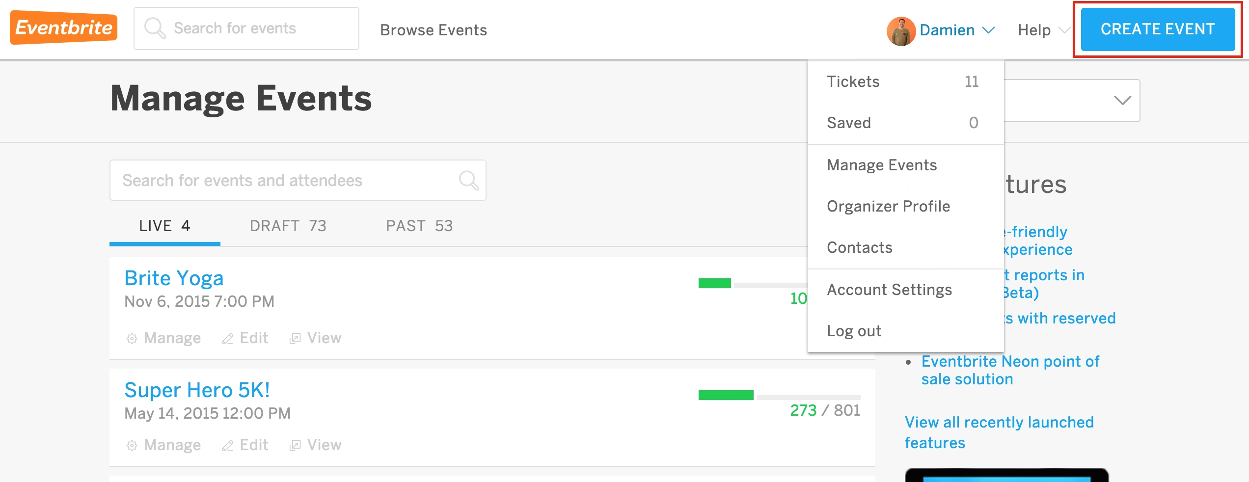 How To Create And Edit Ticket Types | Eventbrite Help Center  Example Table For 1 Month 1 Week Event Process