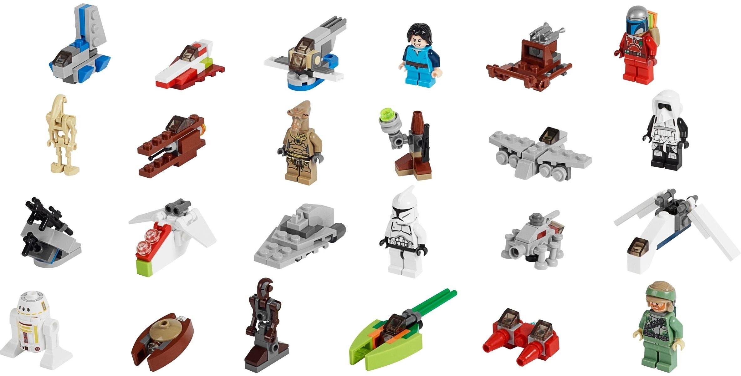 Lego Star Wars Advent Calendar Instructions 75023, Star Wars  Lego Star Wars Instructions Advent Calendar