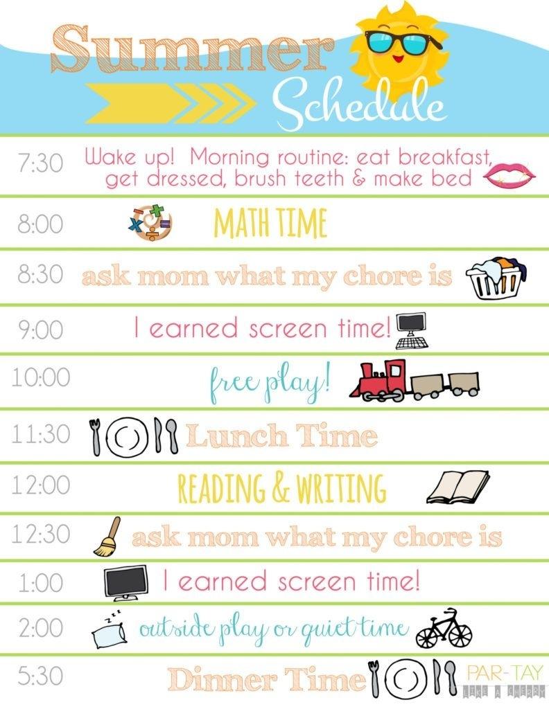 Summer Boredom Blaster Calendar | Pinterest | Daily Schedule  Daily Summer Activities For Preschoolers