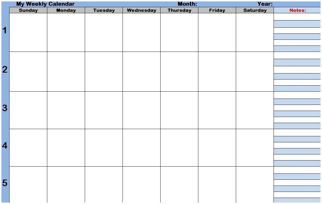 Weekly Calendar With Time Slots Printable – Template Calendar Design  Weekly Printable Calendars With Time Slots