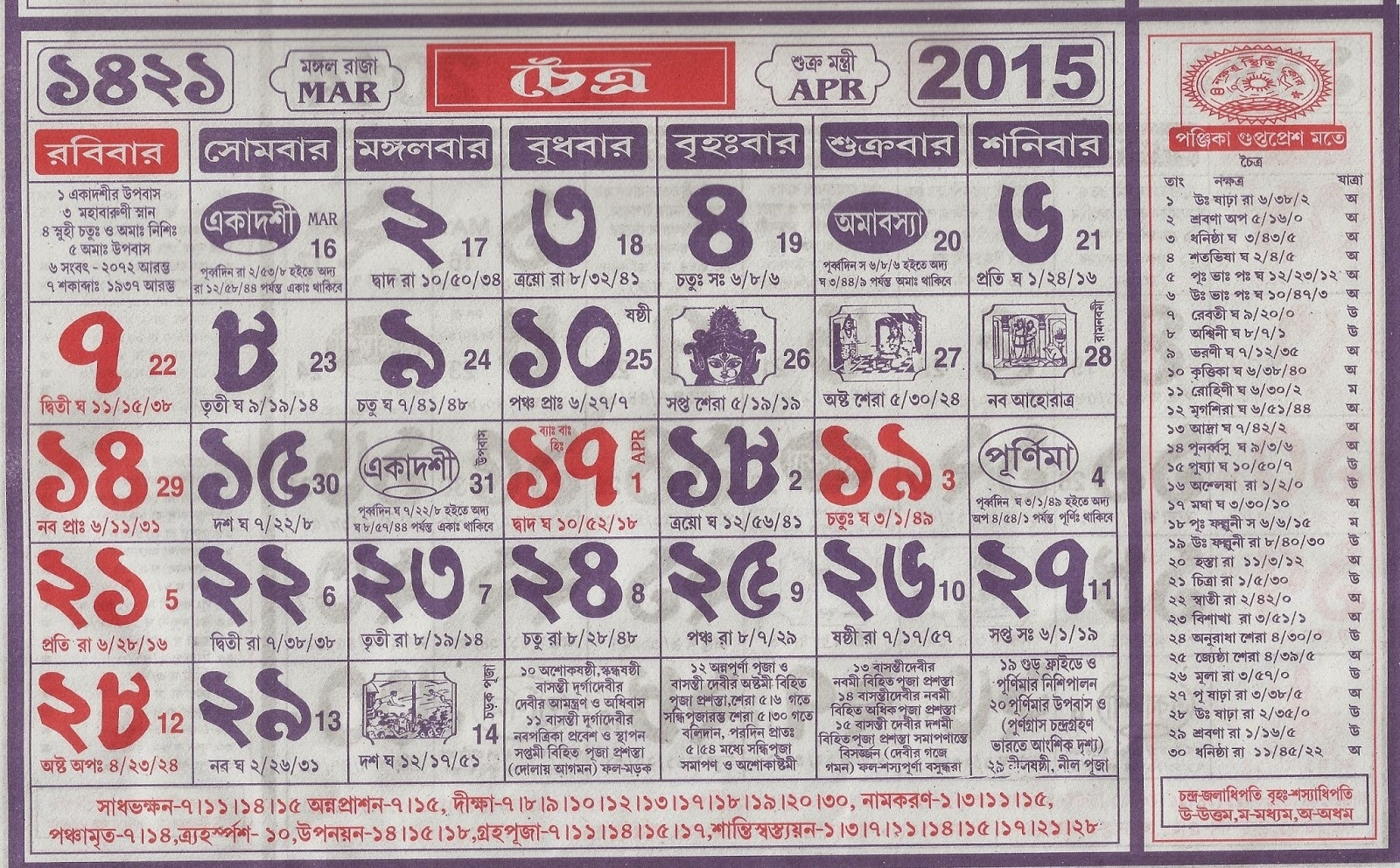 Bengali Full Panjika 1419  Bengali Calander Pic This Year Free Pic Downlode