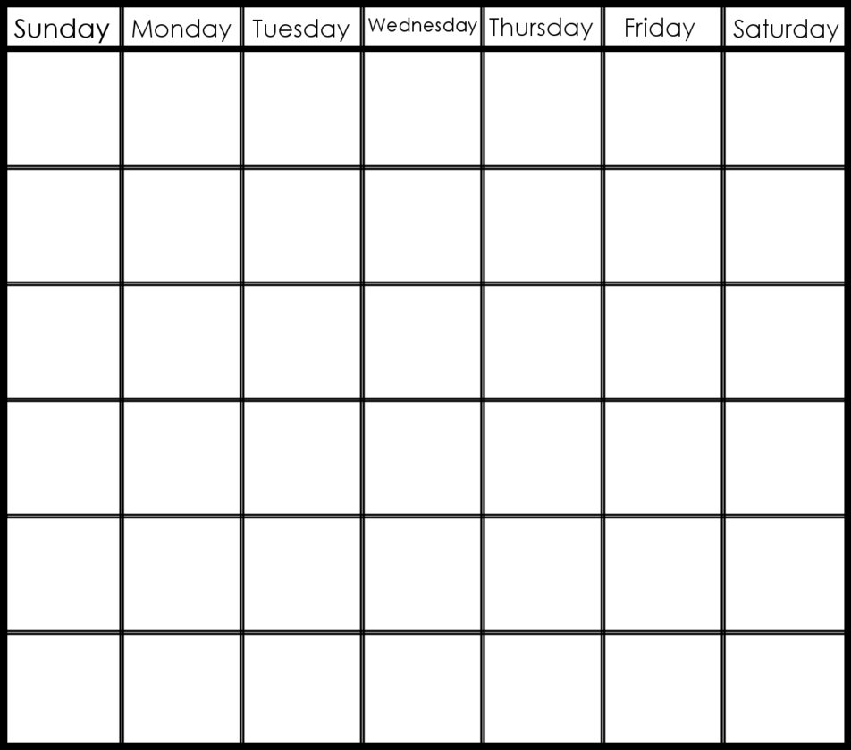 Blank 6 Week Calendar | Mightymic Inside Printable 6 Week Calendar  6 Week Printable Blank Calendar