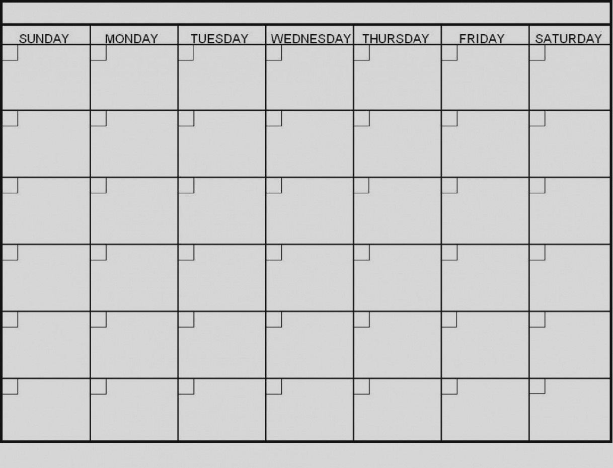 Blank 6 Week Calendar Template With Weeks 25971 Also On 6 Week  6 Week Blank Calendar Template