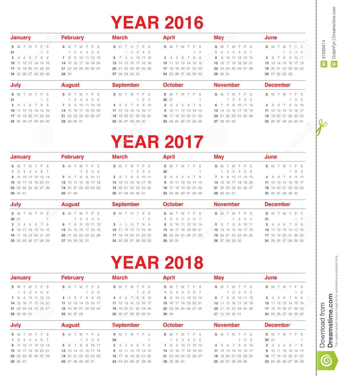 Calendar 2016 2017 2018 Stock Vector. Illustration Of Calendar  Bengali Calander Pic This Year Free Pic Downlode