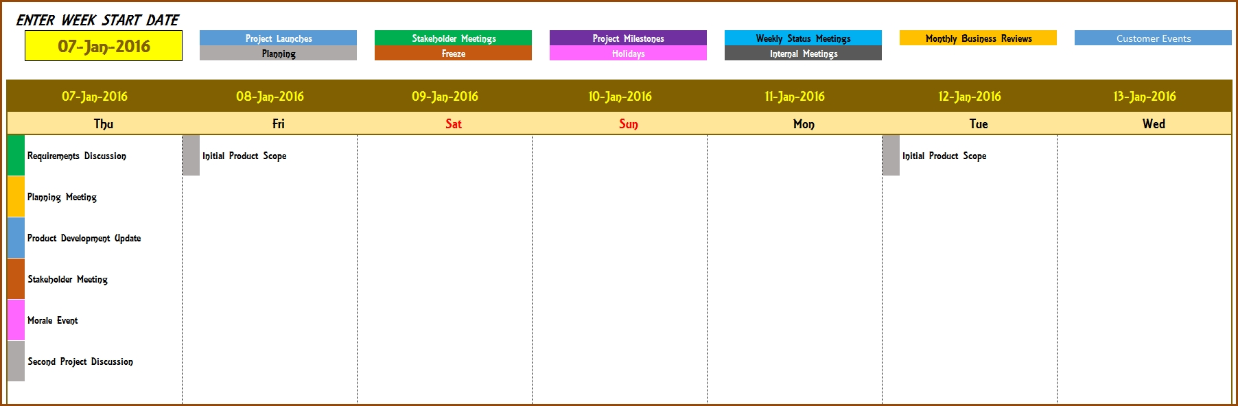 Event Calendar Template 2018 - Tombur.moorddiner.co  Annual Event Calendar Template Excel