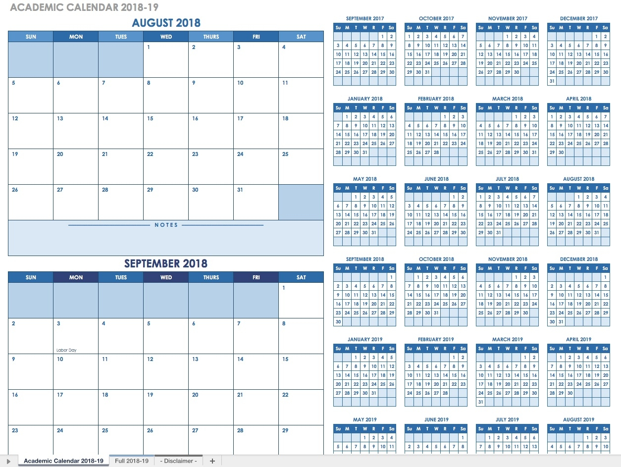 Free Blank Calendar Templates - Smartsheet  Blank Calendar With Only Weekdays