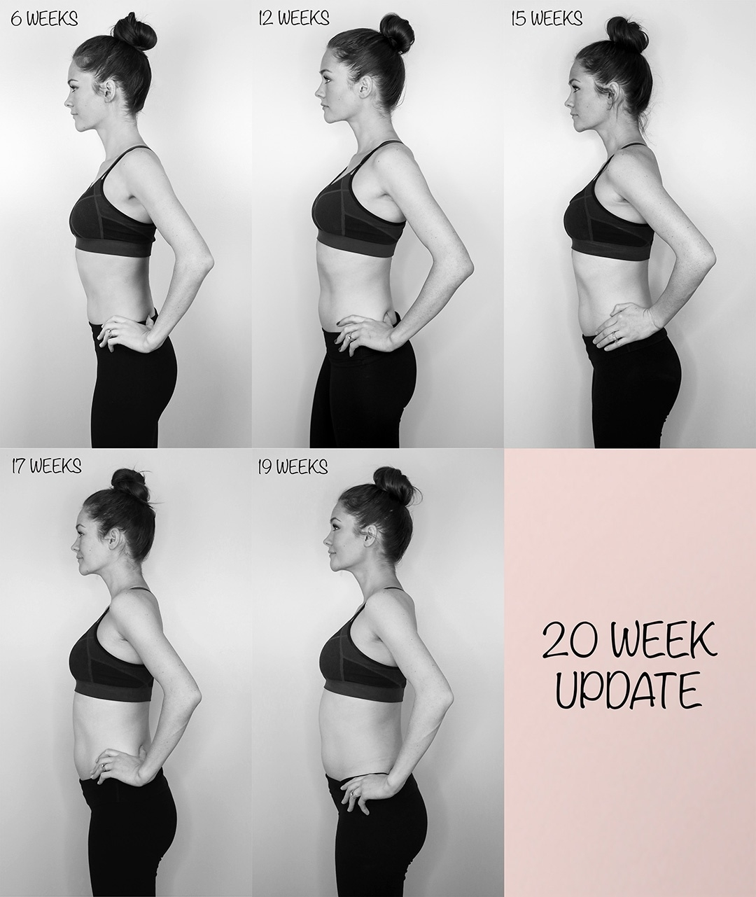 Pregnancy Update: 20 Weeks - Elise Procter  Pregnancy Photos Week By Week