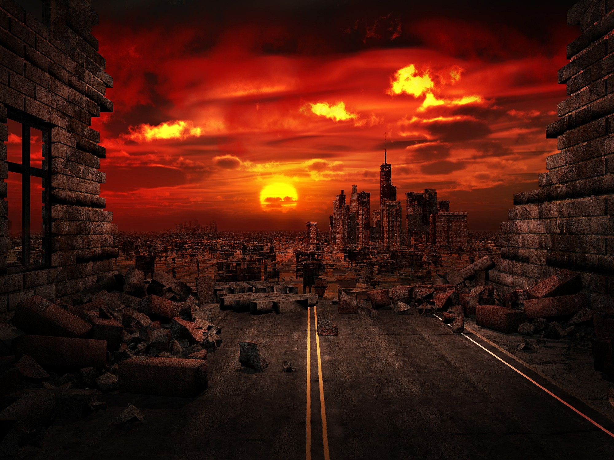 Apocalyptic Analysis — Top 4 End-Of-The-World Theories – Northrop  The End Of The World