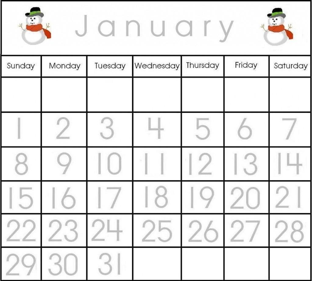 Calendar Numbers 1-31 To Print | Template Calendar Printable  Large Printable Calendar Numbers 1-31