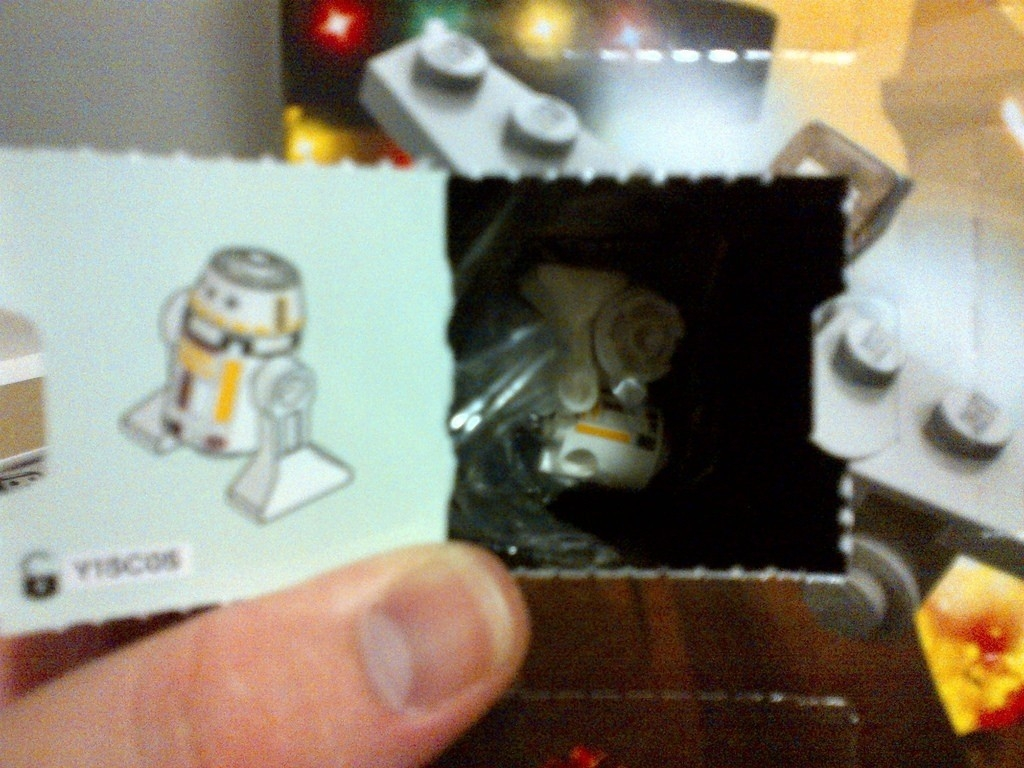 Day 1 – 2013 Lego Star Wars Advent Calendar | Instructions I  Lego Star Wars Advent Calendar Code