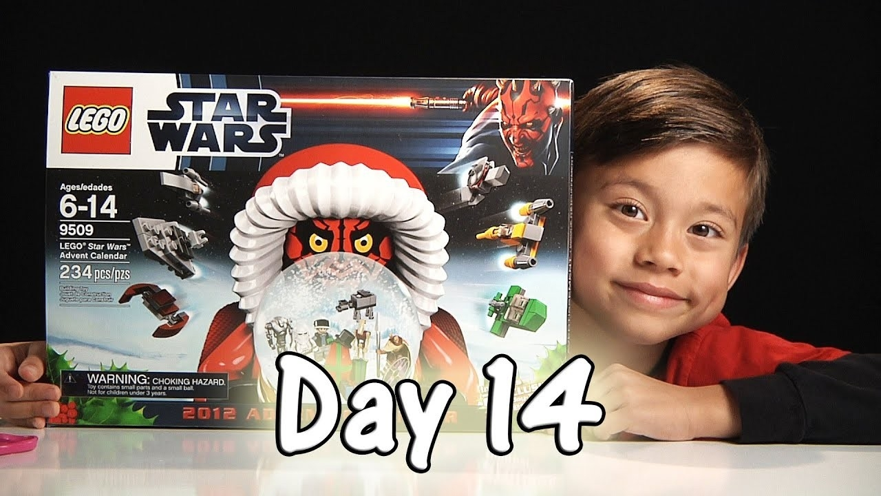 Day 14 Lego Star Wars Advent Calendar Review Set 9509 - 2012 - Stop  Lego Star Wars Advent Calendar Code