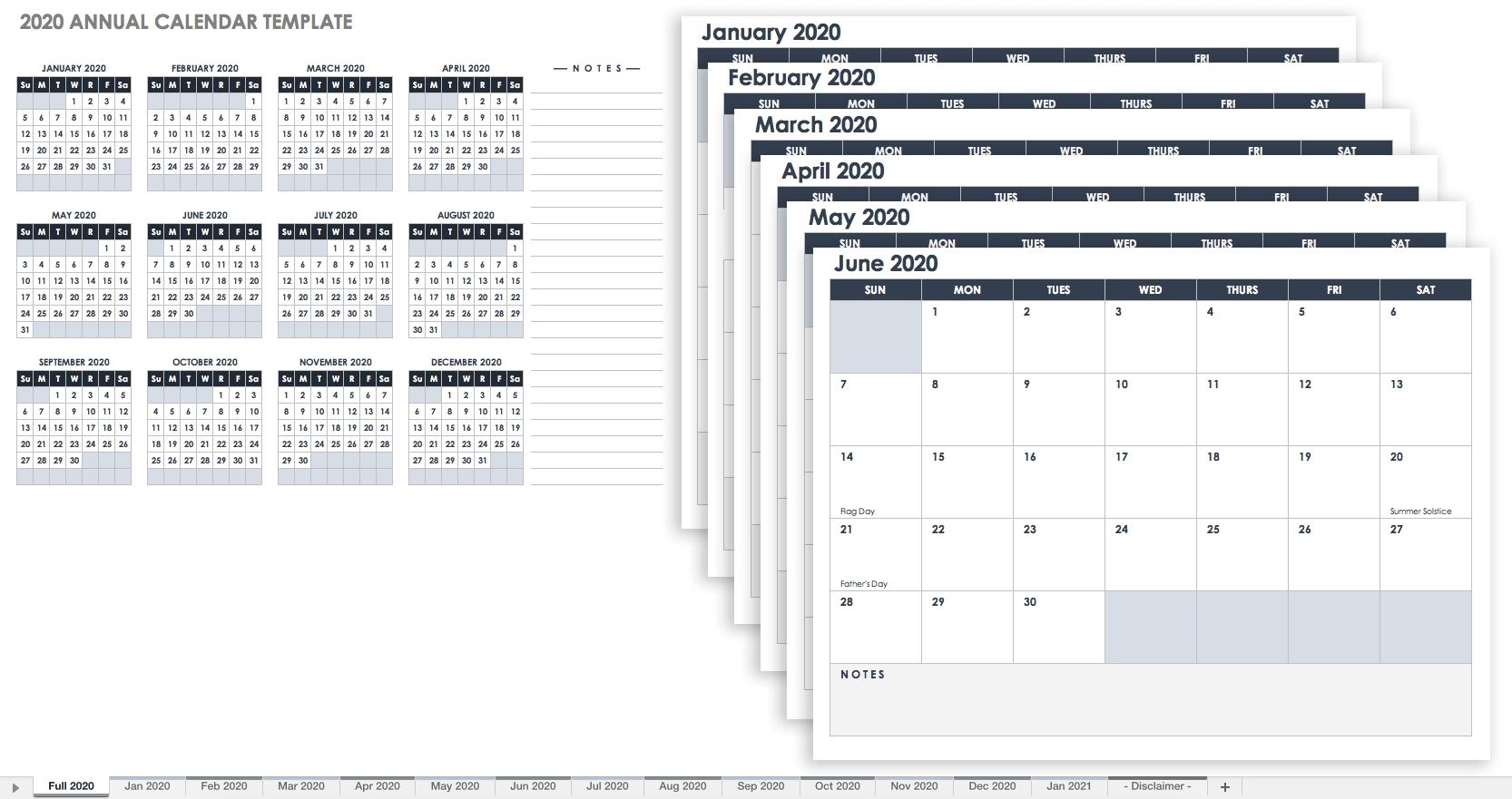 Free Blank Calendar Templates - Smartsheet  31 Day Month Calendar Printable