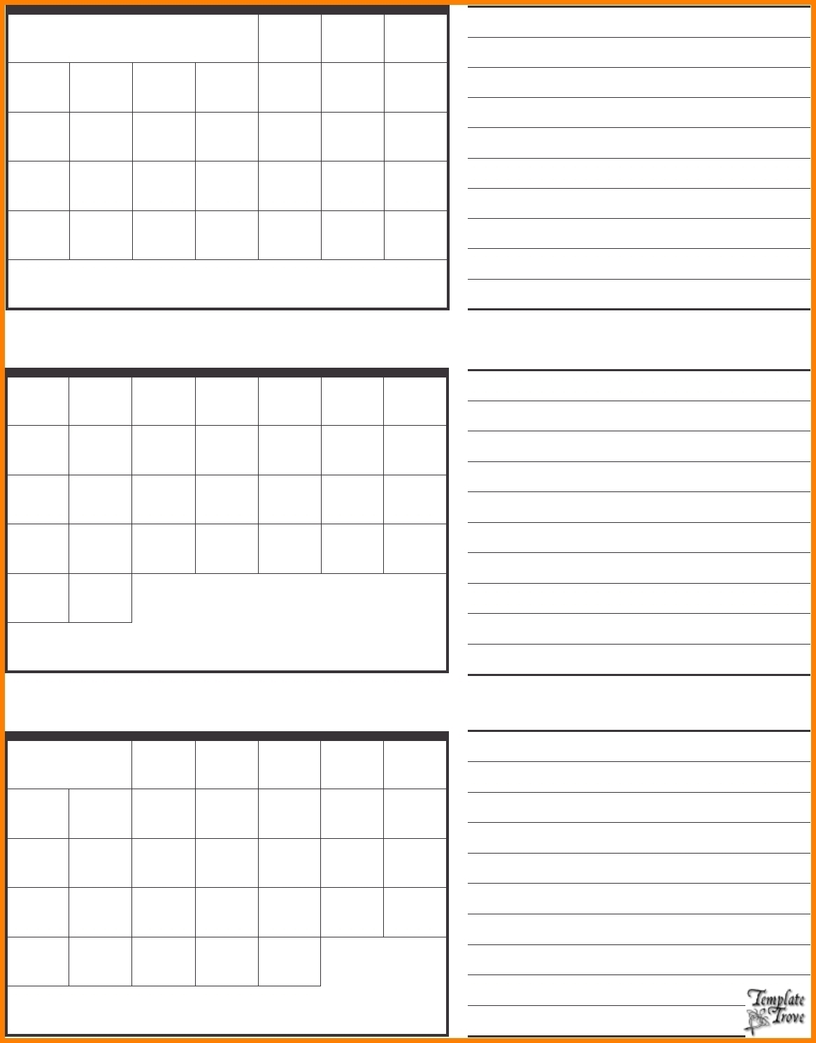 Free Printable Calendar 3 Months Per Page 2018 | Holidays Calendar  3 Month Printable Calendar Template