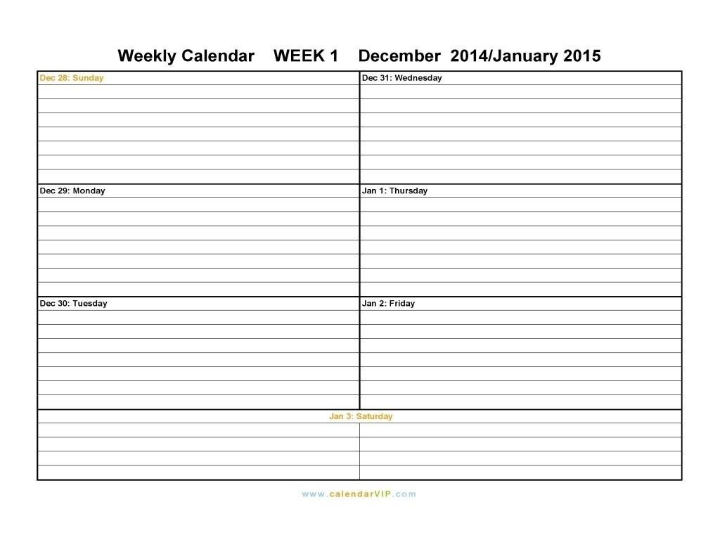 Free Printable Two Week Calendar Blank Calendar Design 2017 Intended  2 Week Calendar Printable Free