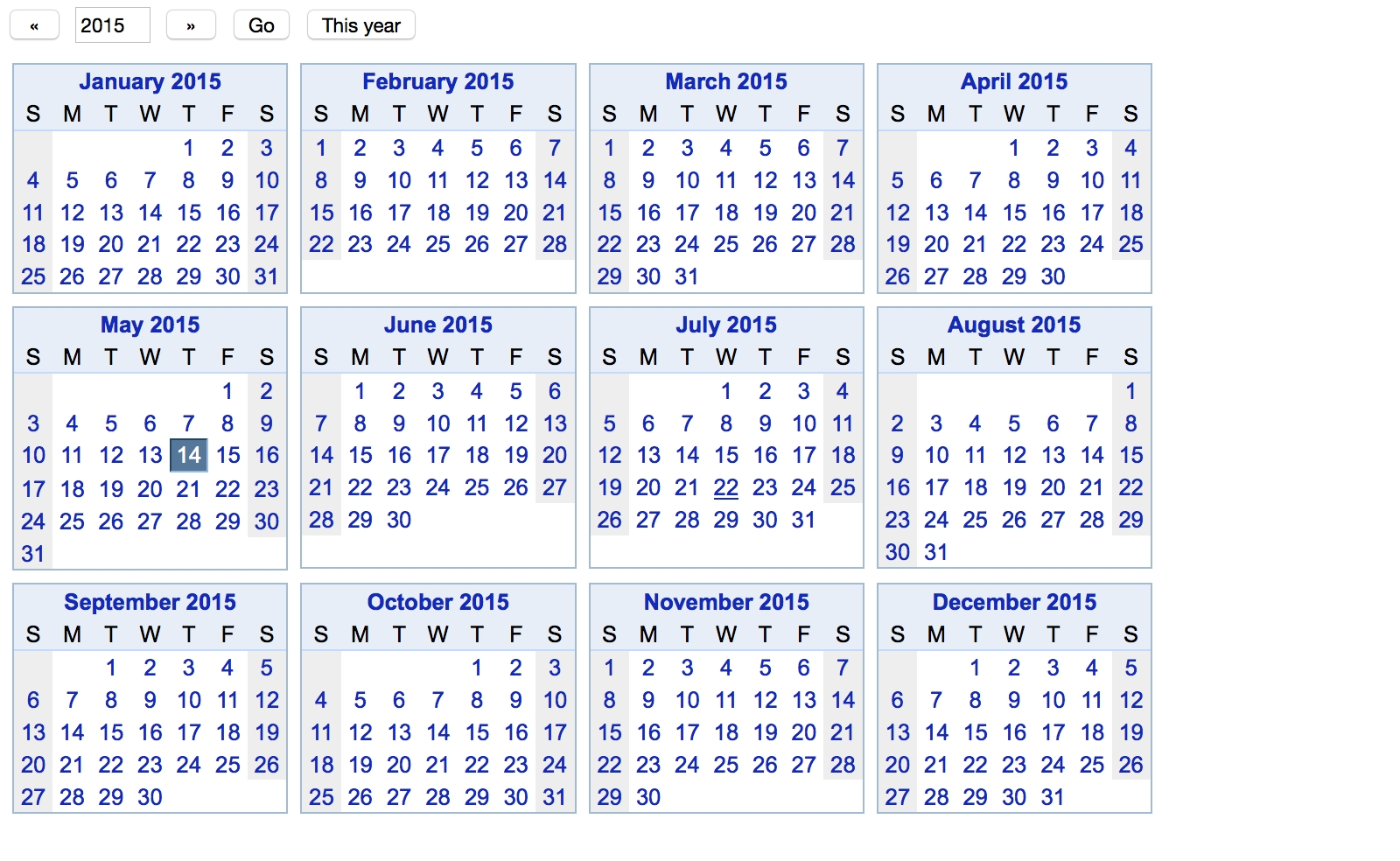 Ganttplanner Blog: Top 50 Tips For Google Calendar  Year At A View Calendar