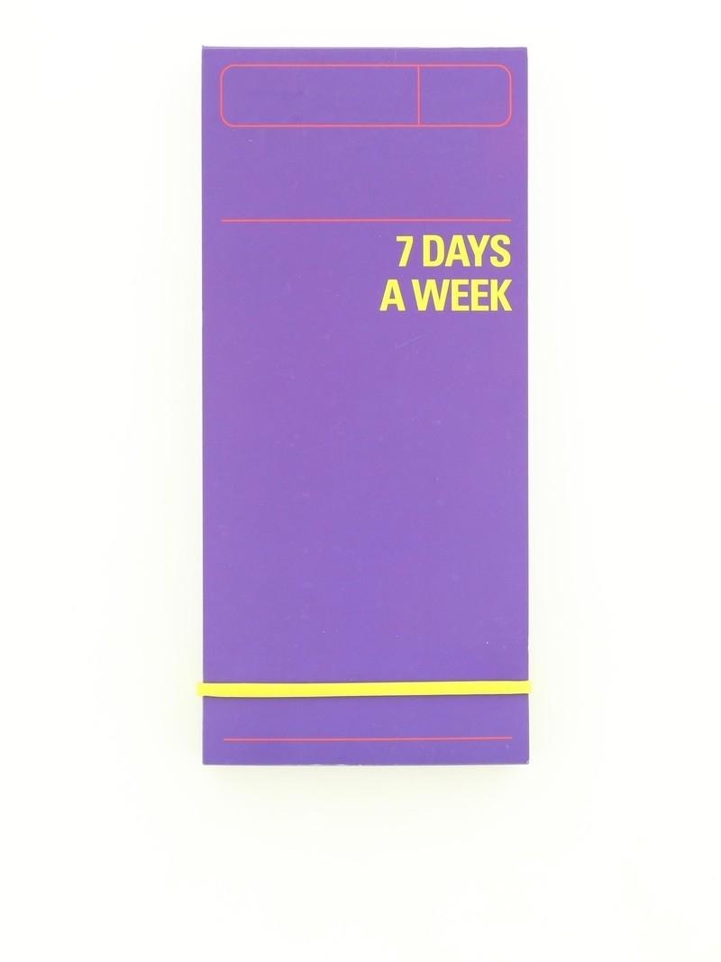 Knock Knock 7 Days A Week Planner Blue   Agendas & Organizers  7 Days A Week Planner