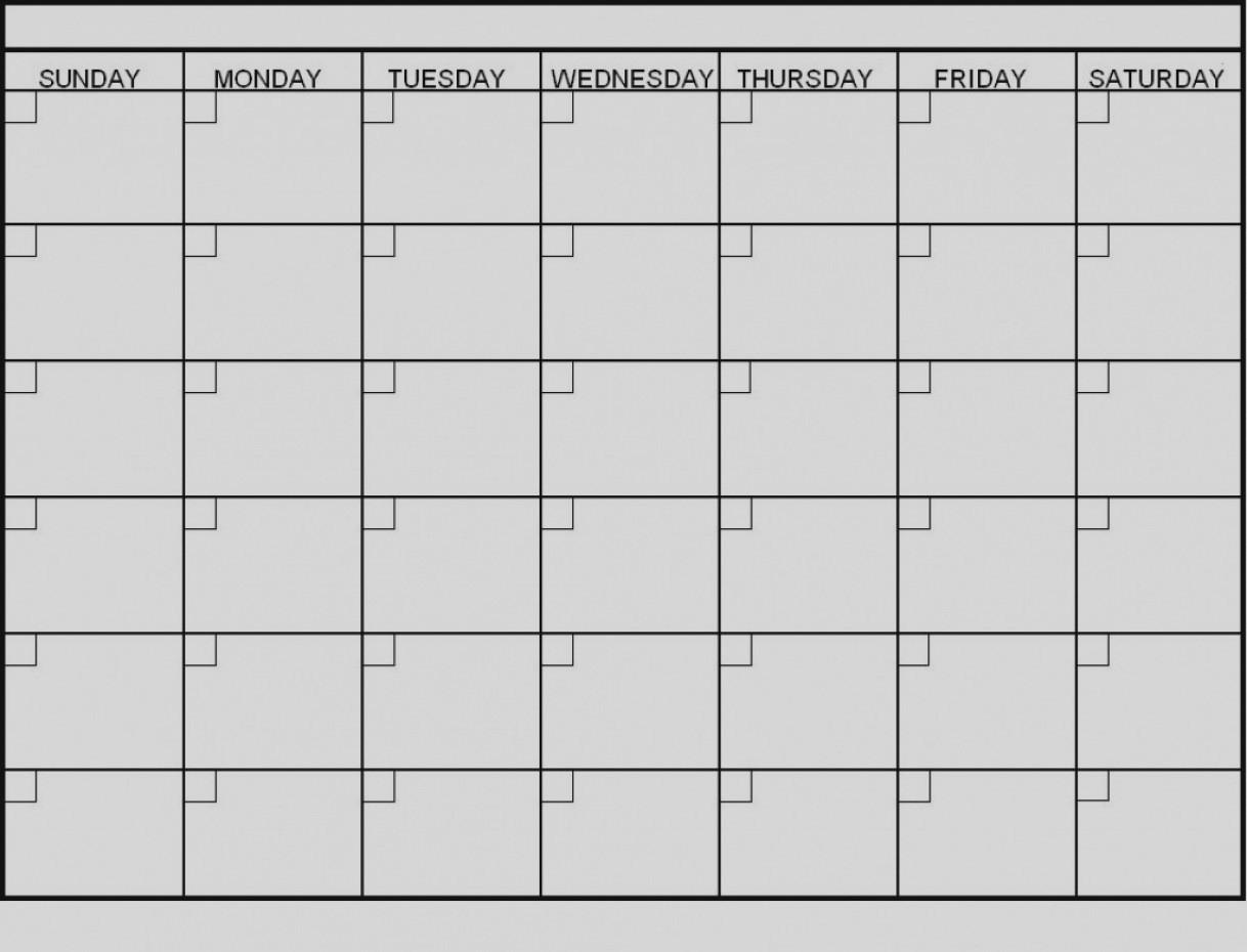 Latest Blank 6 Week Calendar Template Printable 2 Planner 2018  Blank 6 Week Calendar Template
