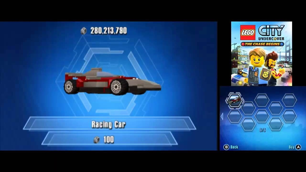 Lego City Undercover (3Ds): The Chase Begins – Di Lego  Lego Star Wars Lego City Cheats